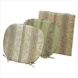 LN1415 川島織物セルコン 花とストライプ シートクッション 48×48  【abt-5112j】【APIs】