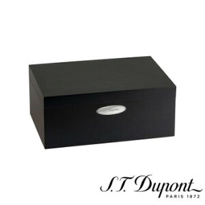 S.T. Dupont エス・テー・デュポン ヒュミドール シガーケース 50本用 マットブラック 001295  【yst-1538807】【APIs】