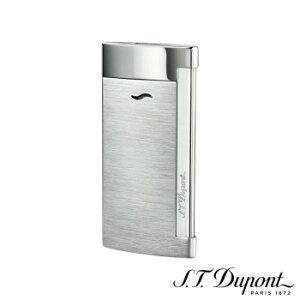 S.T. Dupont エス・テー・デュポン ライター スリム 7 ブラッシュクローム 027701  【yst-1538707】【APIs】
