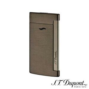 S.T. Dupont エス・テー・デュポン ライター スリム 7 ブラッシュガンメタル 027712  【yst-1538701】【APIs】