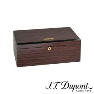 S.T. Dupont エス・テー・デュポン ヒュミドール シガーケース 100本用 ブラウン 001297  【yst-1538809】【APIs】