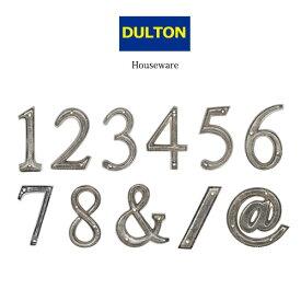 ダルトン メタルレター105 数字 記号 SILVER METAL LETTER 105 NUMBER SILVER おしゃれ 人気