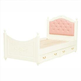 収納ベッド (ホワイト) シングルサイズ RB-1855WH (*ベッドフレームのみ・マットレス別売り) 【送料無料】