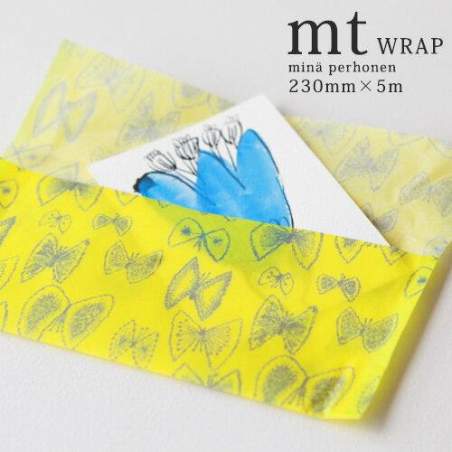 mt wrap mina perhonen sky flower テープサイズ 230mm×5m (MTWRAP59x) ミナ・ペルホヘン ラッピング 包装紙 マスキング カモ井 かもい おしゃれ 人気 送料無料