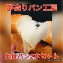 送料無料!話題の生食パン2本セット!