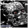터미네이터 두개골 반지/터미네이터 4 T-600 엔드 스 컬 반지/남자 반지/해골 반지/사이즈 17 ~ 21 호/스 컬 반지/실버 액세서리/핸드메이드/동영상/일본 제품/브랜드 < J.T.S >