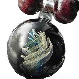 1点物、世界に1つガラスペンダント /レディースネックレス/ガラスアクセサリー/ガラスネックレス/メンズペンダント/レザーチョーカー/日本製/ハンドメイド/ブランド<Dragon Pipe>【smtb-k】【