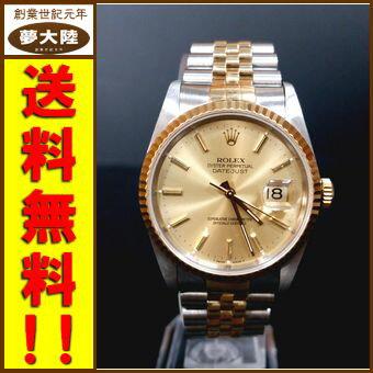 【ROLEX/ロレックス】DATE JUST デイトジャスト/型番16233【腕時計】【中古】【併売】【日立南店】
