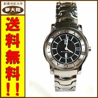 【BVLGARI/ブルガリ】ブルガリソロテンポ/ST35S【腕時計】【中古】【併売】【日立南店】