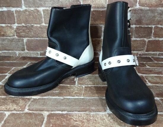 【未使用】johnsons la rocka vintage engineer boots/ジョンソンズ ラロッカ ヴィンテージエンジニアブーツ【送料無料】【メンズ】【ブーツ】【サイズ:25.0cm】【未使用品】【沼津店】[併売:00593]