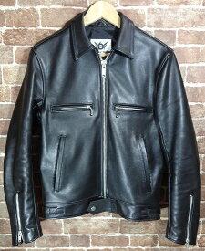 【中古品】666 leather wear LJM-17 666xMY WAY MAN シングルレザージャケット シドジャン【送料無料】【サイズ:34(S)】【沼津店】[併売:00462]