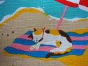 【小風呂敷】三毛猫みけのゆめ日記【みけの海水浴】