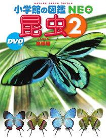 【11/1から最大450円OFFクーポン!】小学館の図鑑NEO 昆虫2 DVDつき