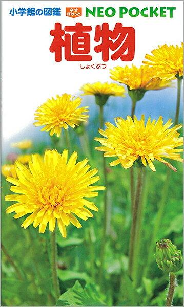 【エントリー+5倍】小学館の図鑑 NEO POCKET -ネオぽけっと- 植物