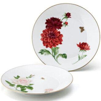 HANAE MORI flora cake plate pea MB1000-153