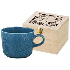 MOOMIN(ムーミン)キャベリー木箱入りマグ(ビリジアン)MMM3703-11H