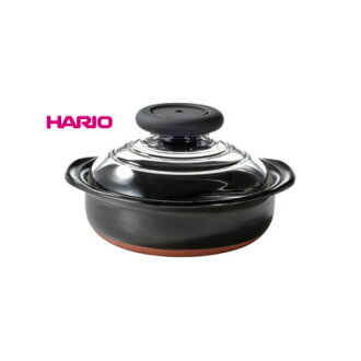 HARIO (커피콩) 맛이 보이는 유리 뚜껑! 뚜껑이 유리 냄비 6 호 ♪