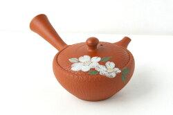【送料無料】『おくりもの』ミニミニ急須わっぱ茶器揃え椿柄