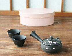 【送料無料】『おくりもの』ミニミニ急須わっぱ茶器揃え桜柄
