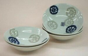 【40%OFF】お得なギフトセットれんこん(軽々食器)煮物鉢揃(青))B46528
