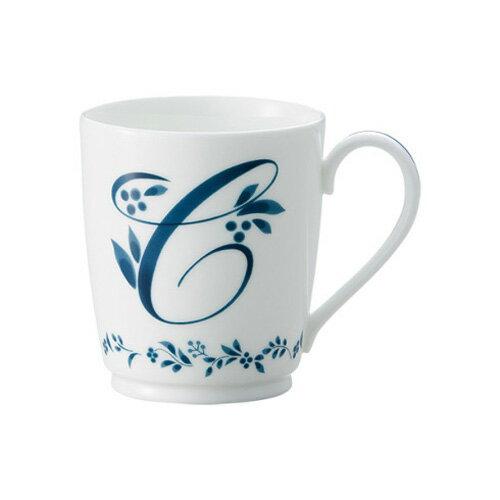 Noritake(ノリタケ)アルファベットマグ コレクション 【イニシャルC】MT59880/4946-C