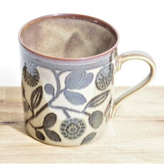 Clasico(クラシコ)マグカップ(花とオリーブ)【北欧/ヴィンテージ】34194966