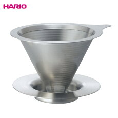 HARIO(ハリオ)ダブルメッシュメタルドリッパー(1〜4杯用)DMD-02-HSV