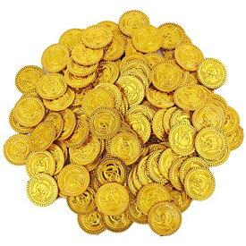 ルボナリエ 金貨 300枚 アンティーク 雑貨 おもしろ雑貨 コイン カジノ 宝箱 ゴールド お金 おもちゃ 古銭 海賊 (金貨300枚)