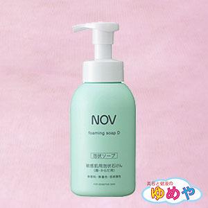 《ゆめや》 ノブ フォーミングソープD 400ml 化粧品 (泡タイプ石鹸)常盤薬品 NOV