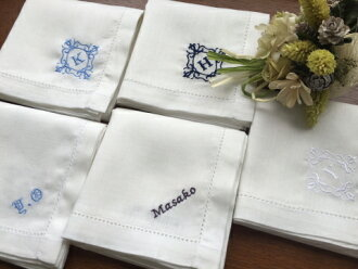 棉和亚麻手帕