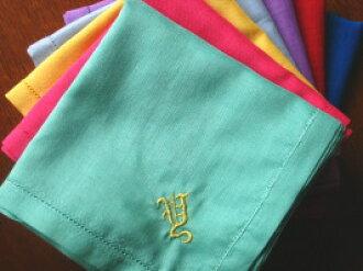 含棉掏出一块手帕颜色集合的缩写