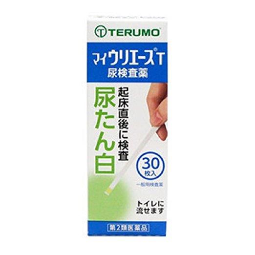 【第2類医薬品】尿たん白試験紙 マイウリエースT 30枚 4987350610072