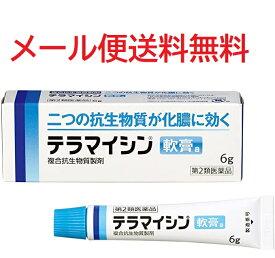 【第2類医薬品】テラマイシン軟膏a 6g 4987123701693 メール便送料無料