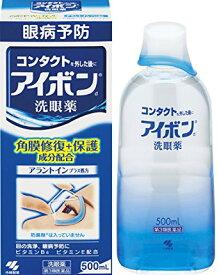 あす楽対応【第3類医薬品】アイボンd 500mL 4987072032893 アレルギー 花粉 ハウスダスト 洗眼薬 送料無料