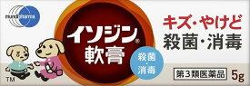 【第3類医薬品】イソジン軟膏 5g★4987087041972★メール便送料無料