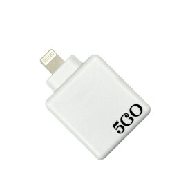 【送料無料】5GO Lightning/ホワイト
