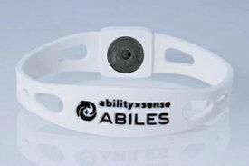 ABILES plus ブレスレット(アビリスプラス) ホワイト/全4サイズ