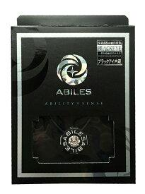 ABILES plus Crystalネックレス Type2ブラック S・Lサイズ