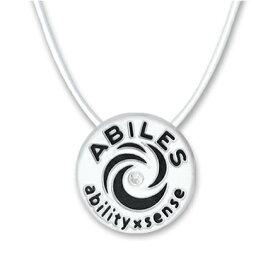 ABILES plusネックレス(アビリスプラス)ホワイト/全2サイズ