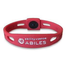 ABILES plusブレスレット(アビリスプラス)T-レッド/全3サイズ