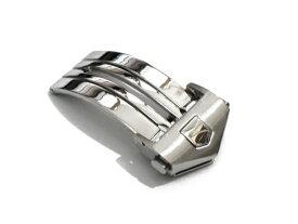 「 タグホイヤー ( TAGHEUER )向け」輸入王オリジナル Dバックル 18mm 社外品 メンズ 腕時計 ベルト用