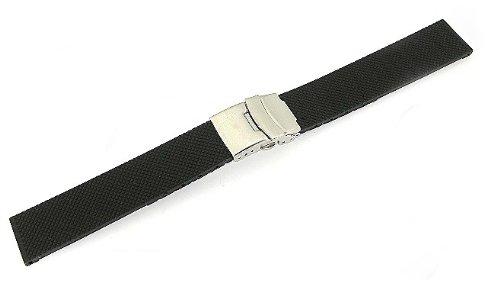 「タグホイヤー(TAGHEUER)向け」 輸入王オリジナル ラバーベルト オリジナルパターン3 社外品 20/18mm メンズ 腕時計用