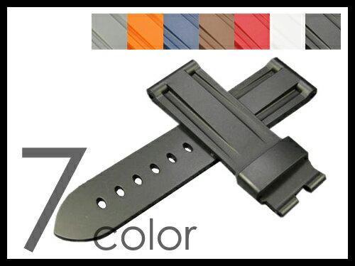 「スント コア (Suunto Core)向け」 輸入王オリジナル ベルト ラバー 社外品 メンズ 腕時計 バンド 24mm