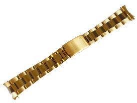「ロレックス(ROLEX)向け」輸入王オリジナル デイトナ / サブマリーナ 用 オイスター ブレス イエローゴールド GP 20mm ツヤあり メンズ 腕時計用 社外品 116508 116528 116618 などに最適