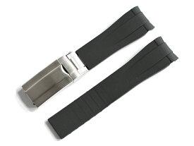「ロレックス(ROLEX)向け」輸入王オリジナル ラバー ベルト 社外品 バックル付き デイトナ サブマリーナ エクスプローラー GMTマスター メンズ 腕時計用