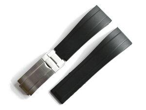 「ロレックス(ROLEX)向け」輸入王オリジナル ラバー ベルト 社外品 バックル付き オイスターフレックス デイトナ サブマリーナ エクスプローラー GMTマスター ヨットマスター メンズ 腕時計用
