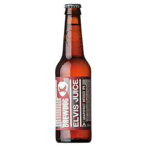 ビール ブリュードッグ エルビスジュース グレープフルーツ IPA 330ml (74-5)(75517)(ca) スコットランド beer