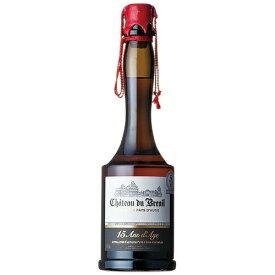 ブランデー シャトー デュ ブルイユ 15年 カルバドス 700ml (73006) 洋酒 brandy(73-3)