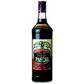 リキュール パスカル クレーム ド カシス 1000ml (25-5)(74520) liqueur