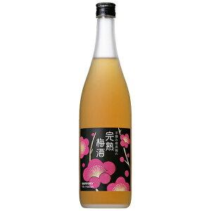 梅酒 サントリー 手摘み南高梅の完熟梅酒 720ml (30210) うめ酒 果実酒(24-4)